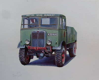 Matador Painting - Aec Matador Brs. by Mike Jeffries