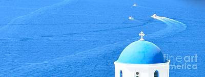 Travel Rights Managed Images - Aegean Blue Royalty-Free Image by Yinguo Huang