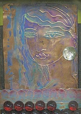 Aegean Princess Art Print by Trish Marcum