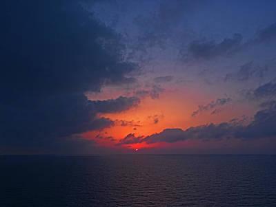 Photograph - Aegean Sunrise 1 by S Paul Sahm