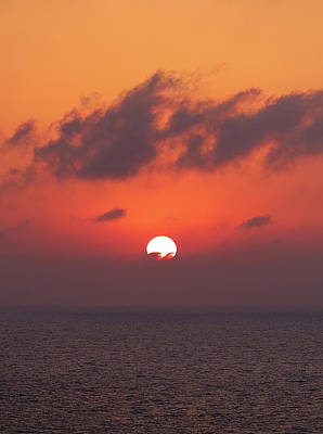 Photograph - Aegean Sunrise 3 by S Paul Sahm