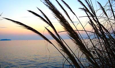 Photograph - Aegean Sunset by Alan Lakin
