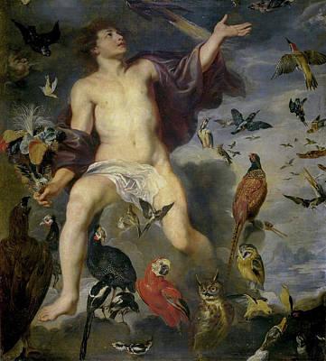 Ruler Painting - Aeolus by Peter Paul Rubens