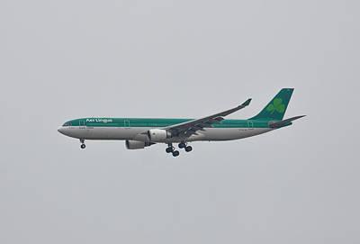 Photograph - Aer Lingus Airbus A330 by Brian MacLean