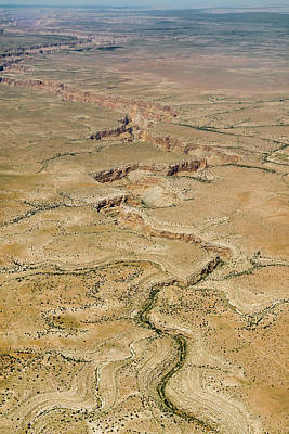 Photograph - Aerial Canyon by Colleen Joy