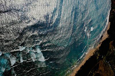 Photograph - Aerial Kauai by Steven Lapkin