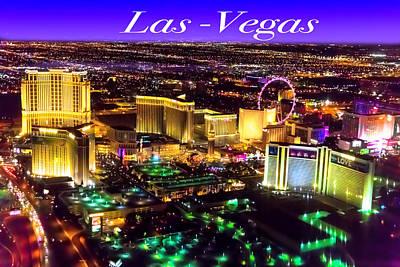 Amy Weiss - Aerial Las-Vegas by Jodi Jacobson