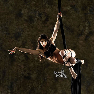 Photograph - Aerial Ninja by MAD Art and Circus