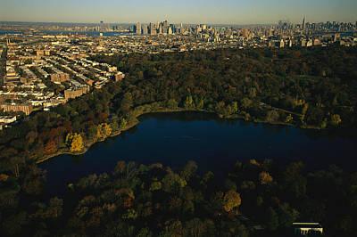 Aerial Of Prospect Park Art Print