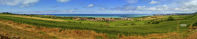 Photograph - Aerial Panoramic View Of Villages On The Adriatic Coast Near Anc by Elenarts - Elena Duvernay photo
