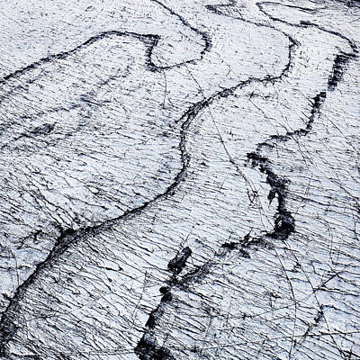 Photograph - Aerial Photo Langjokull Iceland by Gunnar Orn Arnason