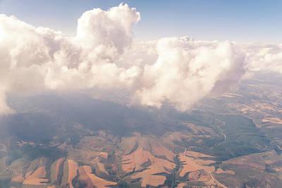 Photograph - Aerial - Strange Cloud Creature by Georgia Mizuleva