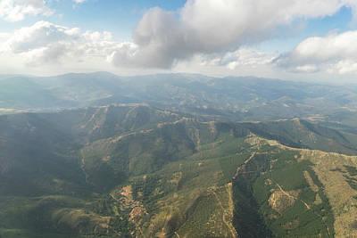 Photograph - Aerial - Valley Village by Georgia Mizuleva