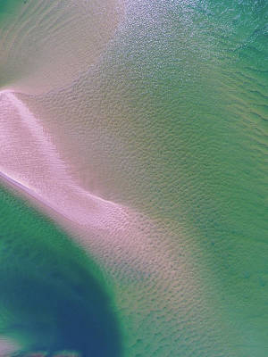 Photograph - Aerial View Of Noosa River by Keiran Lusk