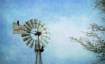 Photograph - Aermotor Windmill by Brian Wallace