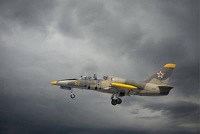 Photograph - Aero L-39 Albatros by Guy Whiteley