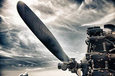 Clouds Photograph - Aero Machine by Nathan Larson