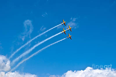 Print featuring the photograph Aerobatics by Yurix Sardinelly