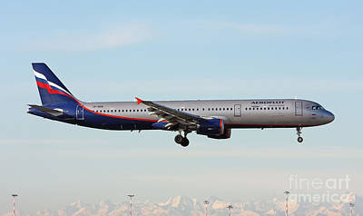 Photograph - Aeroflot - Russian Airlines Airbus A321-211 by Amos Dor