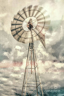 Photograph - Windmill by Lynn Sprowl