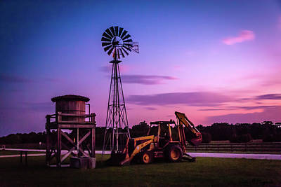 Photograph - Aeromotor Windmill by Robin Blaylock