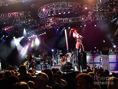 Aerosmith Photograph - Aerosmith-00168 by Gary Gingrich Galleries