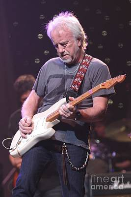 Photograph - Aerosmith Guitarist Brad Whitford by Concert Photos