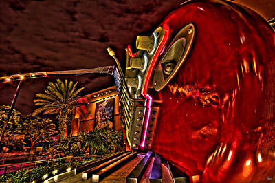 Aerosmith Photograph - Aerosmith Rock 'n' Roller Coaster Hdr by Jason Blalock
