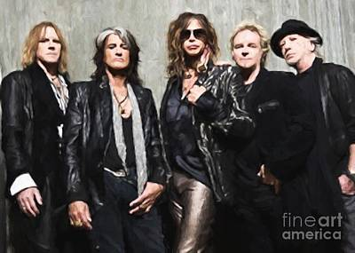 Aerosmith Art Print
