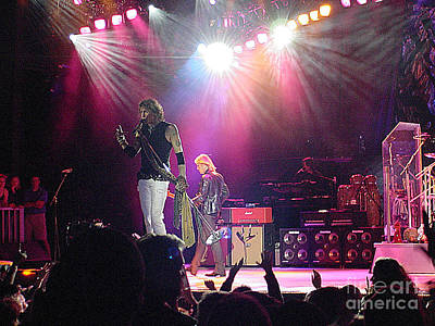 Steven Tyler Photograph - Aerosmith-steven Tyler-00082 by Gary Gingrich Galleries
