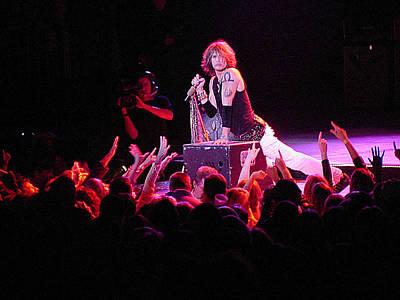 Steven Tyler Photograph - Aerosmith-steven Tyler-00088 by Gary Gingrich Galleries
