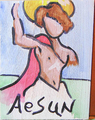 Painting - Aesun by Loretta Nash