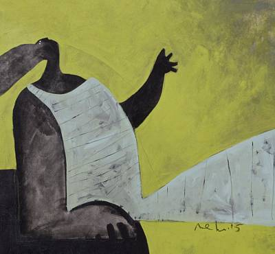 Figurative Art Mixed Media - Aetas No. 18  by Mark M  Mellon