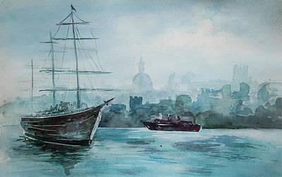 Painting - af Chapman by Alexandra-Emily Kokova