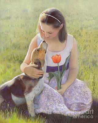 Painting - Affection by Nancy Lee Moran