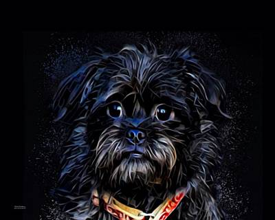Affenpinscher Puppy  Art Print