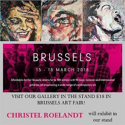 Digital Art - Affordable Art Fair Brussels by Christel Roelandt