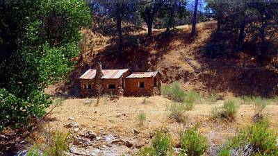 Photograph - Cozy Cabin Kern County California by Richard Yates