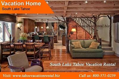 South Lake Tahoe Digital Art - Affordable South Lake Tahoe Vacation Rental by Joseph