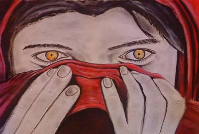 Afghan Girl Art Print by Colin O neill