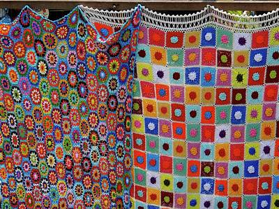 Exploramum Photograph - Afghan Rugs by Exploramum Exploramum