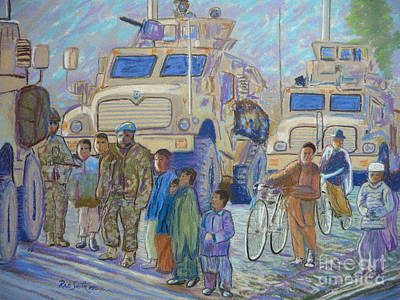 Afghanistan 2009 Art Print by Rae  Smith