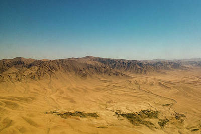 Photograph - Afghanistan Aerial Scenic Mountain View by Steven Green