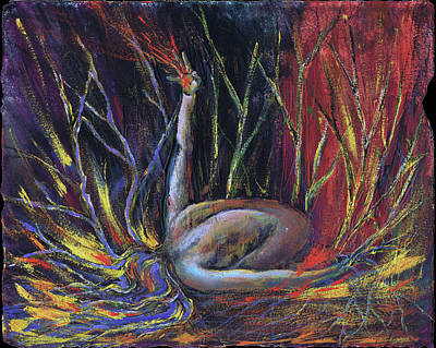 Painting - Aflame by Tona Williams