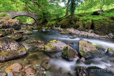 Photograph - Afon Lledr Bridge by Adrian Evans