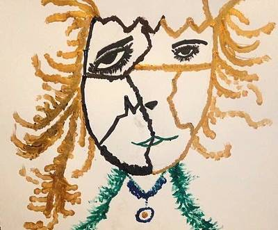 Painting - Afraid  by Samimah Houston