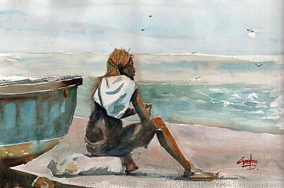 Painting - Africa Beyond The 6th by Gaston McKenzie