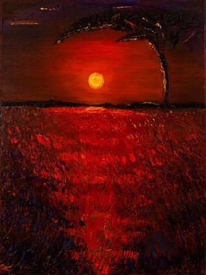 Africa Calls Art Print by Diann Blevins