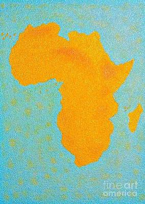 Africa No Borders Art Print