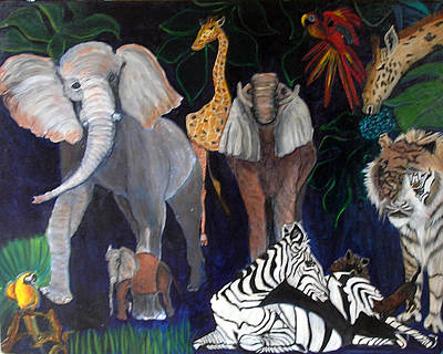 Painting - Africa by Pilar  Martinez-Byrne